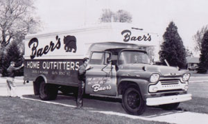 Baers old truck delivery